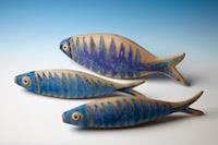 Photo of Three Blue Fish